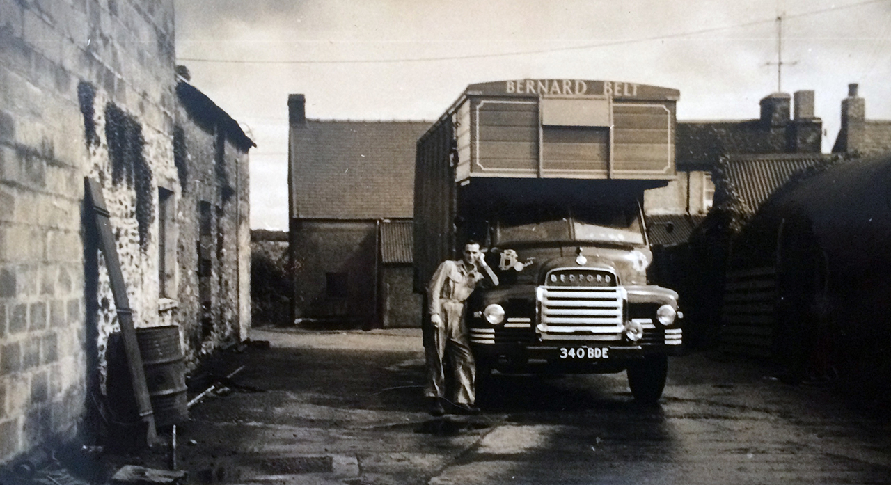 Billy Belt and his Bedford